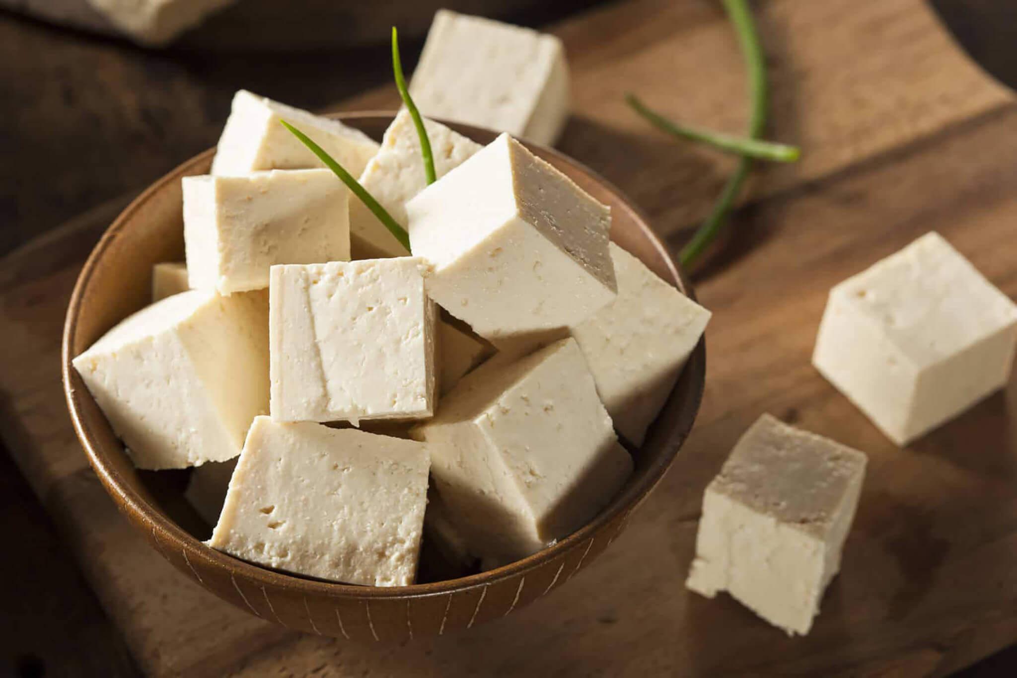 Naturalne tofu