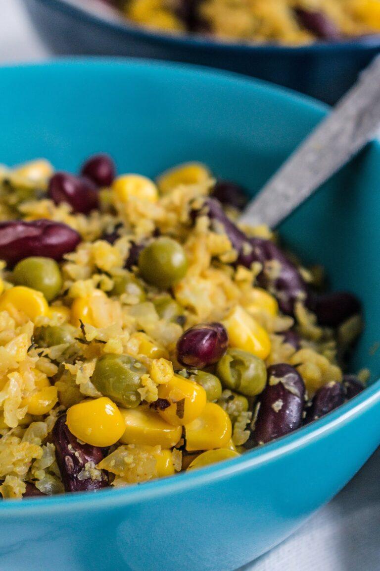 Risotto z kalafiora z warzywami