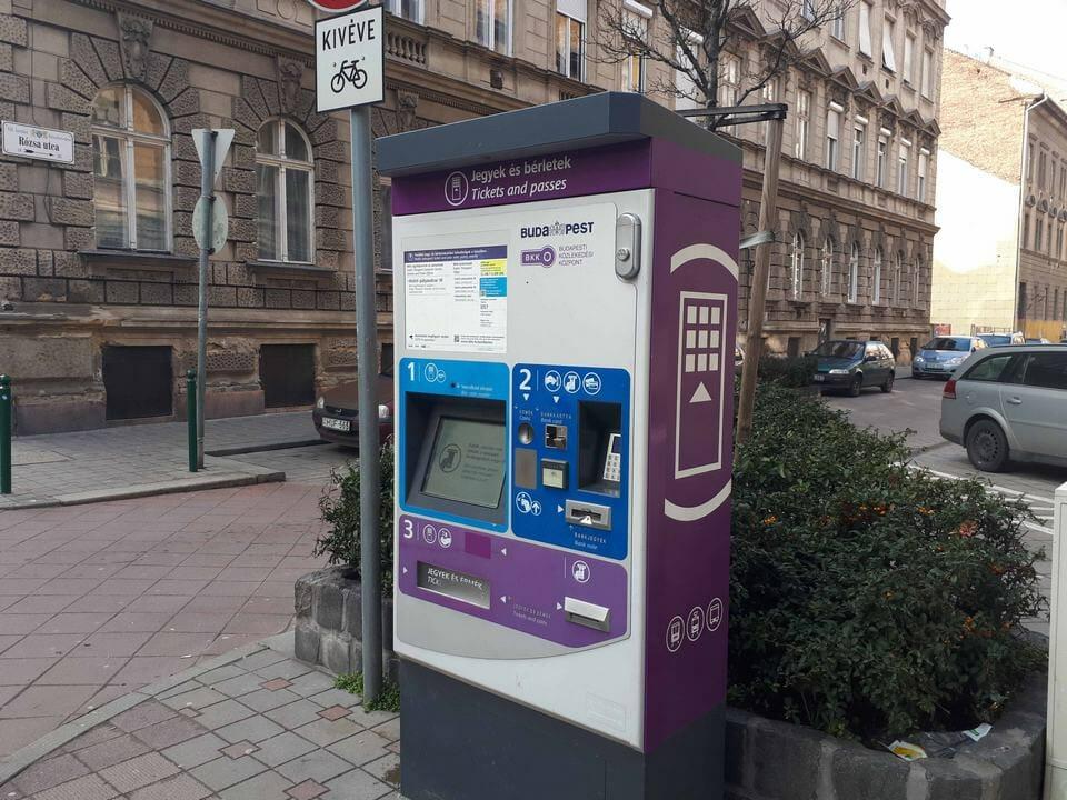 BKK - automat biletowy